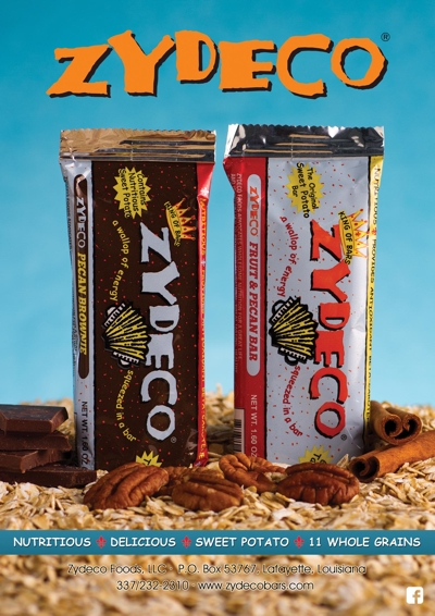 Zydeco sweet potato nutrition bars