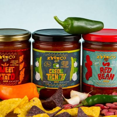 zydeco salsa red bean, creole trinity, sweet potato