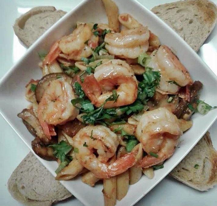 Zydeco Creole Trinity Shrimp Pasta Recipe